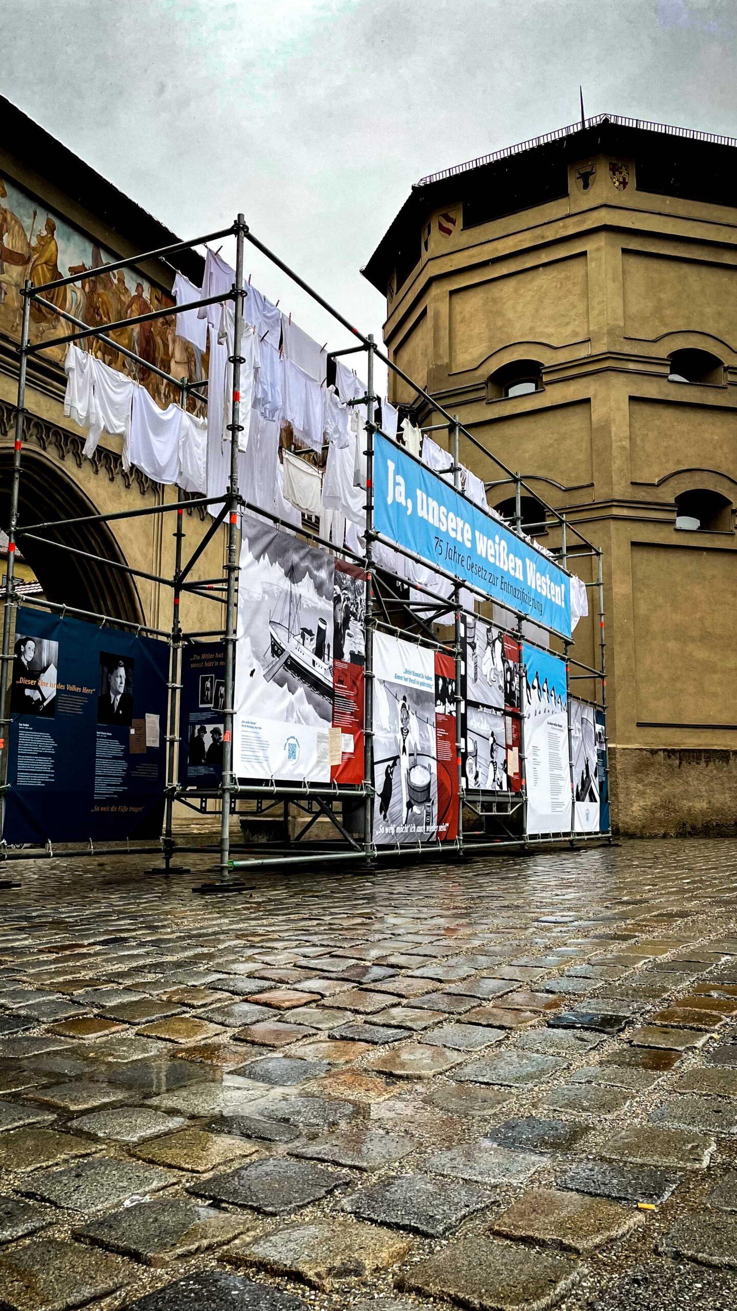 Ansicht Installation Isartor